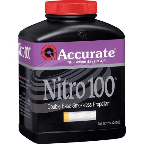 Accurate Nitro 100 - Powder Valley