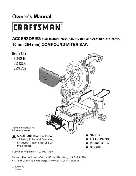 ace 10 compound miter saw manual pdf manual