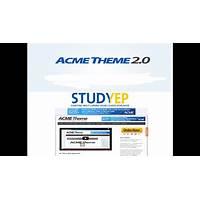 Acme wordpress theme online tutorial
