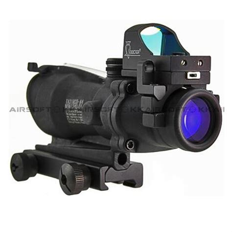 Acog With Red Dot Sight