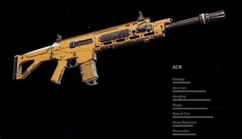 Acr Assault Rifle Ghost Recon