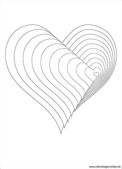 Acrylbilder Herz Malvorlagen