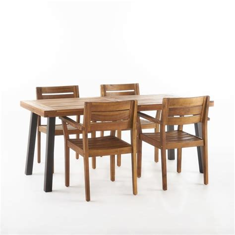 Adair Outdoor 7 Piece Dining Set