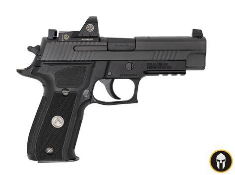 Adding An Optic To A Sig Sauer P226 Legion