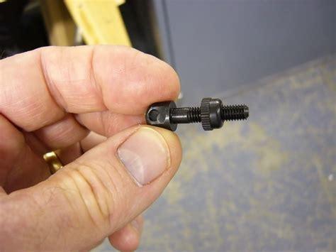Adding Sling Stud To Shotgun Stock