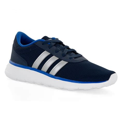 adidas Neo Men's Lite Racer Engineered Lace up Shoe