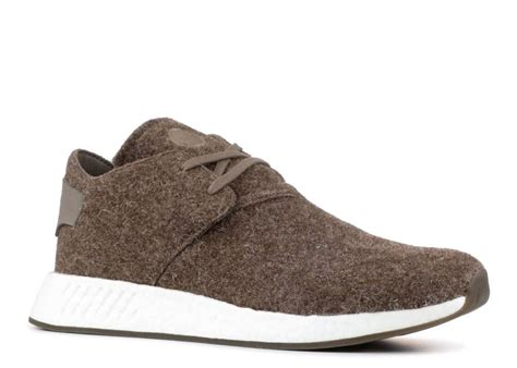 adidas x Wings + Horns Men's NMD C2 Simple Brown CG3781 (Size: 12)