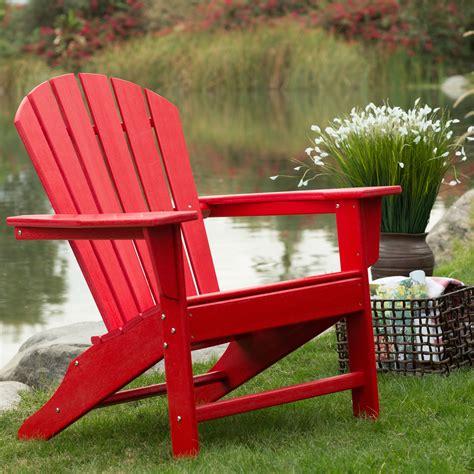 adirondack chairs red.aspx Image
