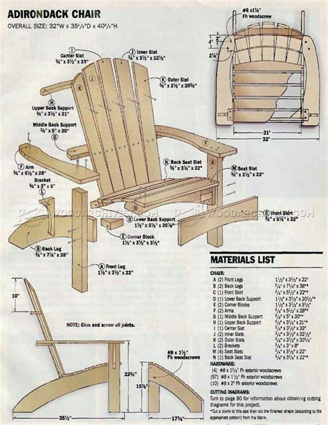 Adirondack chair plan Image