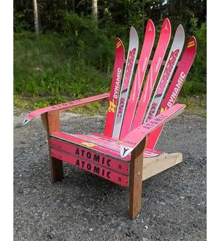 Adirondack Chair Plans Using Skis