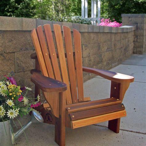 Adirondack chairs cedar wood Image