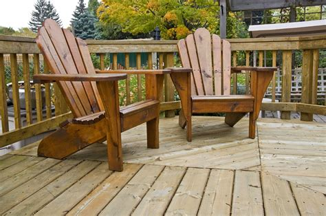 Adirondack chairs origin Image