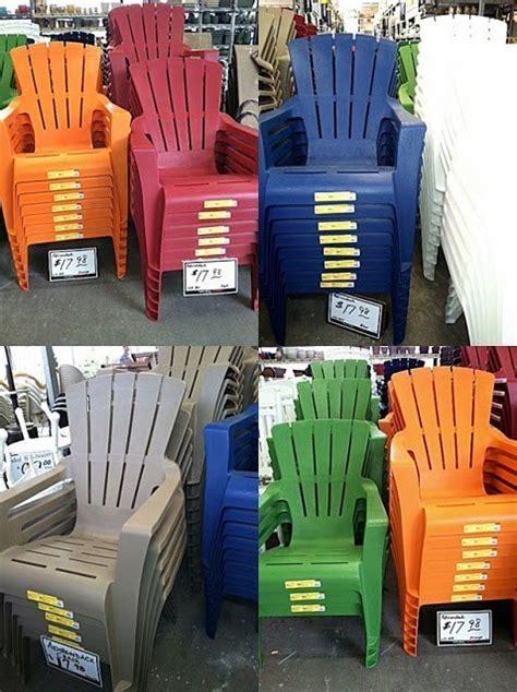 Adirondack chairs plastic target Image