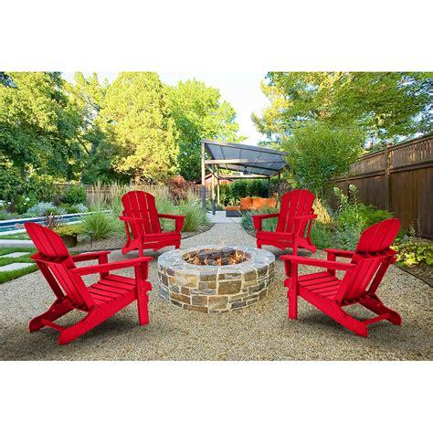 Adirondack chairs set of 4 Image