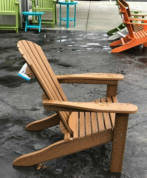 Adirondack chairs vintage Image