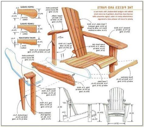 Adirondack glider chair plans Image