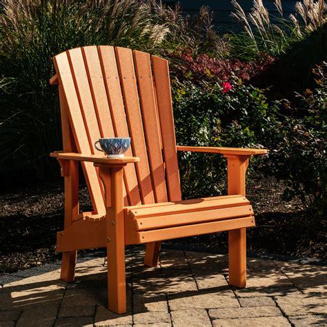 Adirondack style chairs Image