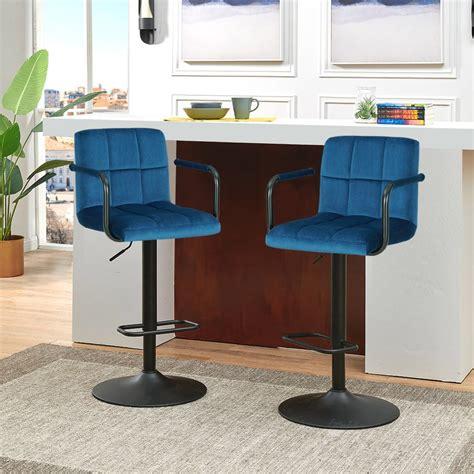 Adjustable Height Swivel Bar Stool (Set of 2)