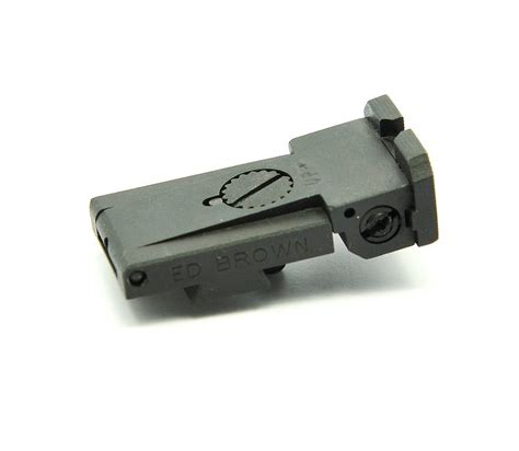 Adjustable Rear Sight Ed Brown Products Inc