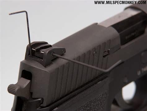 Adjustable Sights For Sig Sauer P226