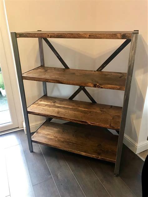 Adjustable Wood Shelving Unit Image