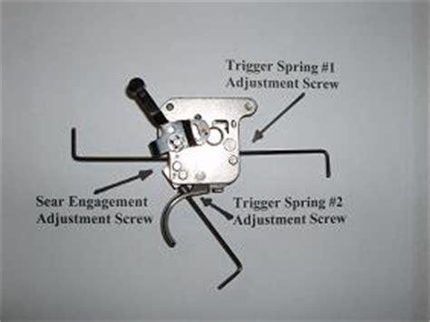 Adjusting Remington 700 Sps Trigger