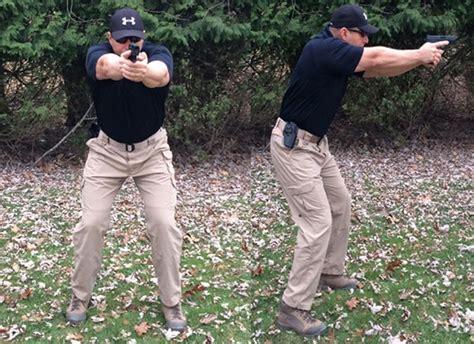 Aerial Handgun Stance