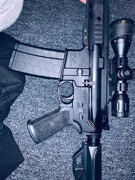 Aero Precision Billet Trigger Guard Install