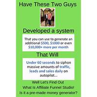 Affiliate funnel studio work or scam?