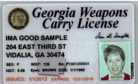 Age To Carry A Handgun In Georgia