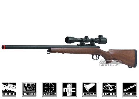 Agm Mp 001 Bolt Action Spring Sniper Rifle Airsoft Gun