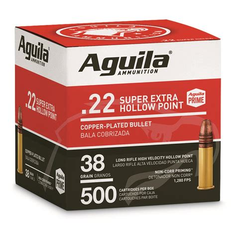 Aguila 22 High Velocity Ammo Review