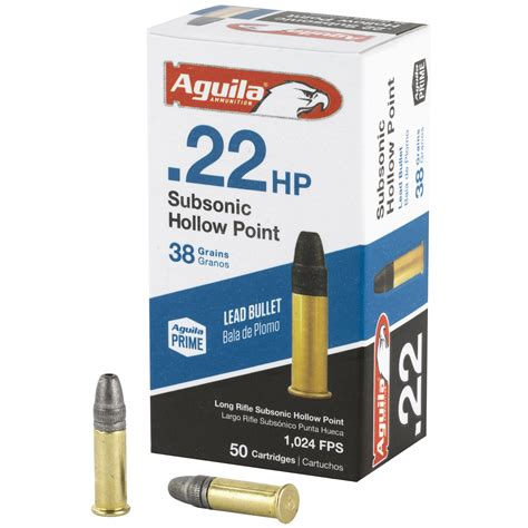Aguila 22 Subsonic Ammo For Sale