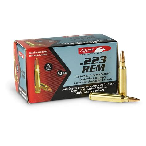 Aguila Ammo Review 223