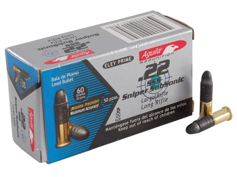 Aguila Ammunition 22 Sss Sniper Subsonic Long Rifle
