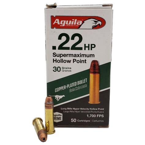 Aguila Super Maximum 22 Long Rifle