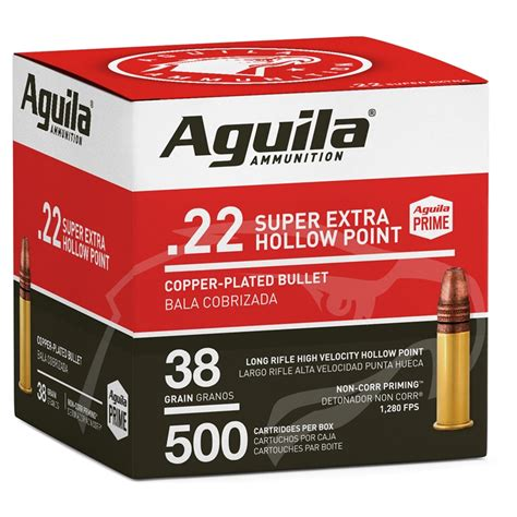 Aguila Superextra 22 Long Rifle Ammo Review