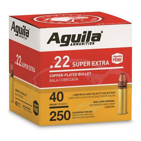 Aguilla 22 Ammo