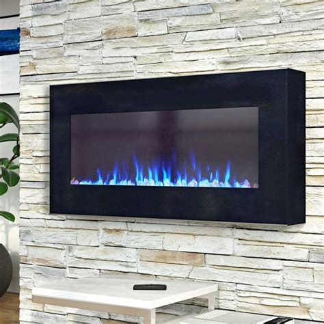 Aida Wall Mounted Electric Fireplace