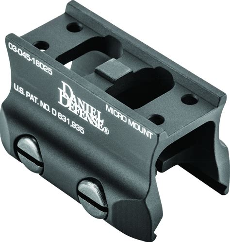 Aimpoint Micro Mount W Spacer Daniel Defense