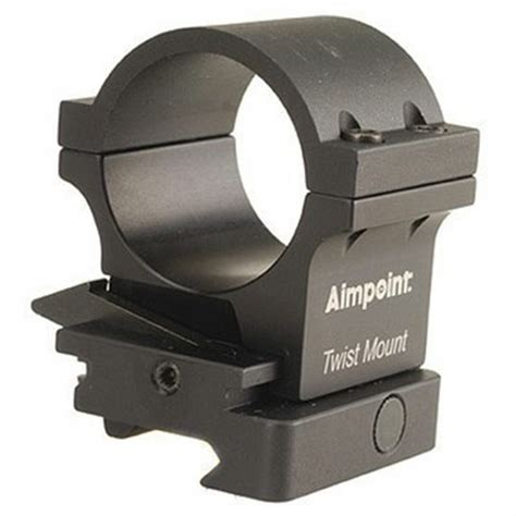 Aimpoint Twist Mount Ring And Base For 3x Magnifier 12234