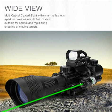 Aipa Ar15 Rifle Scope Tactical Combo 412x50eg Review