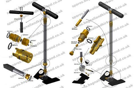 Air Rifle Diagram Hand Pump