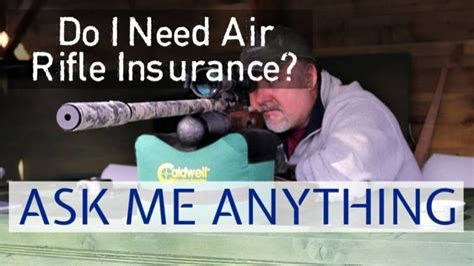 Air Rifle Insurance