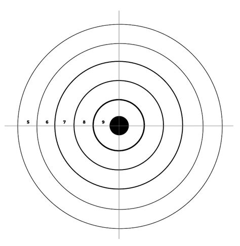 Air Rifle Printable Targets