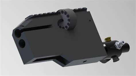 Air Rifle Receiver Stl