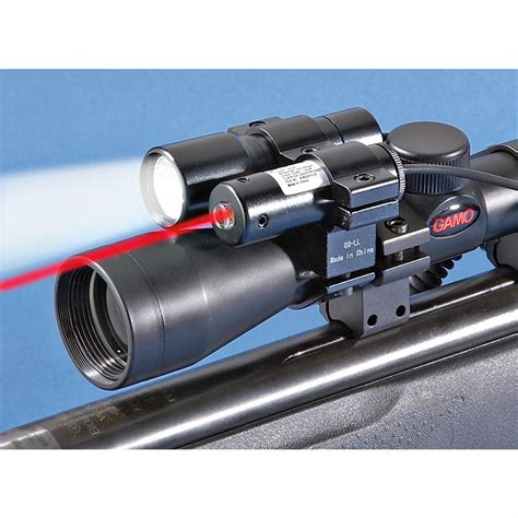 Air Rifle Scope With Laser
