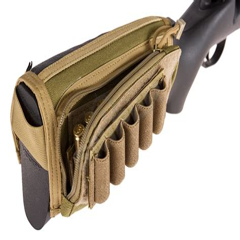 Air Rifle Stock Ammo Pouch