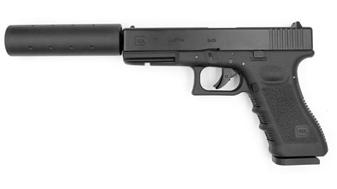 Airsoft Glock With Silencer