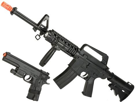 Airsoft Kit Rifle Colt M4a1 Spring